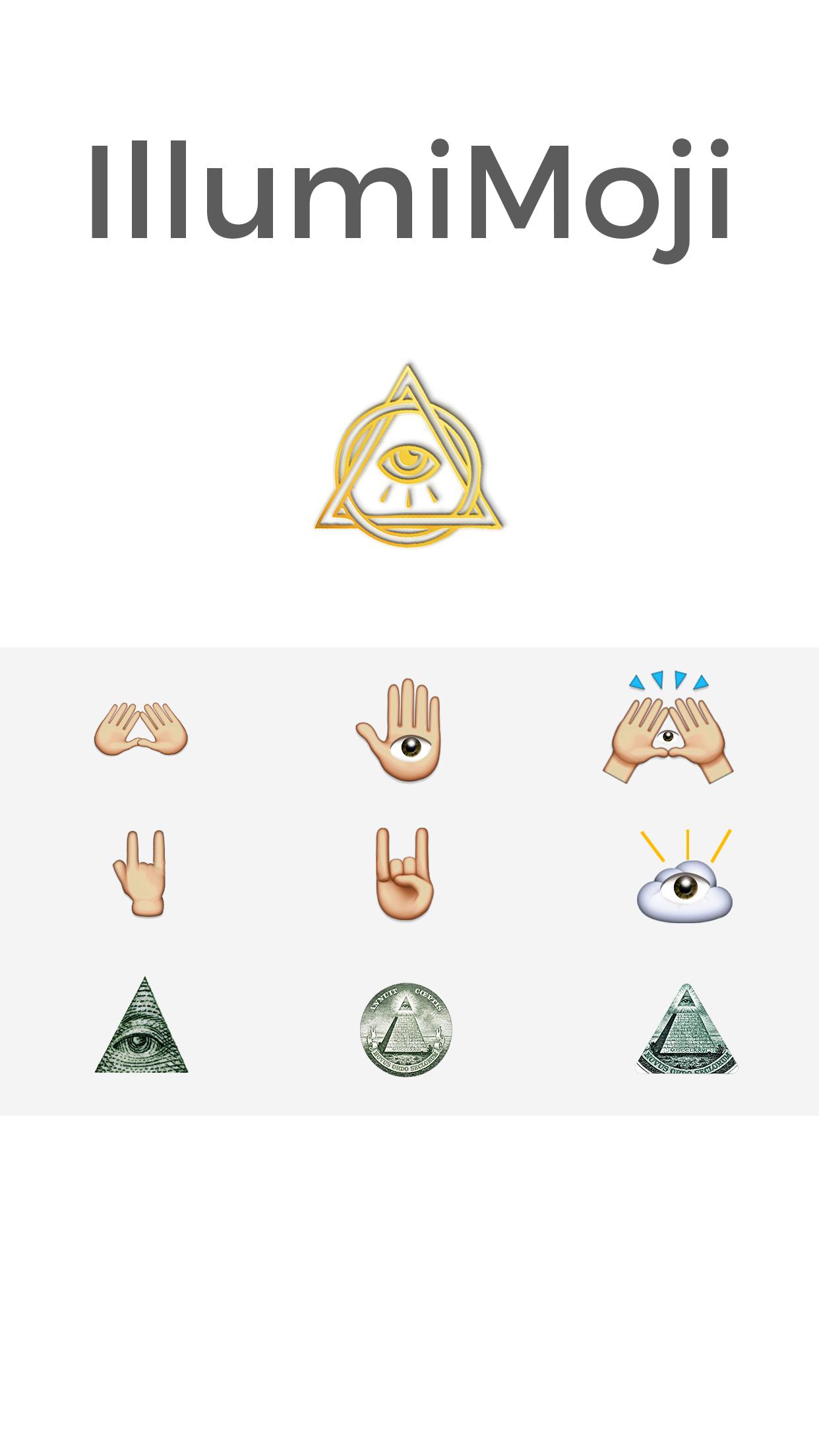 Illumimoji – The Illuminati Emojis – Unicorn Apps