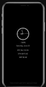OLEDX Bitcoin Watch Face
