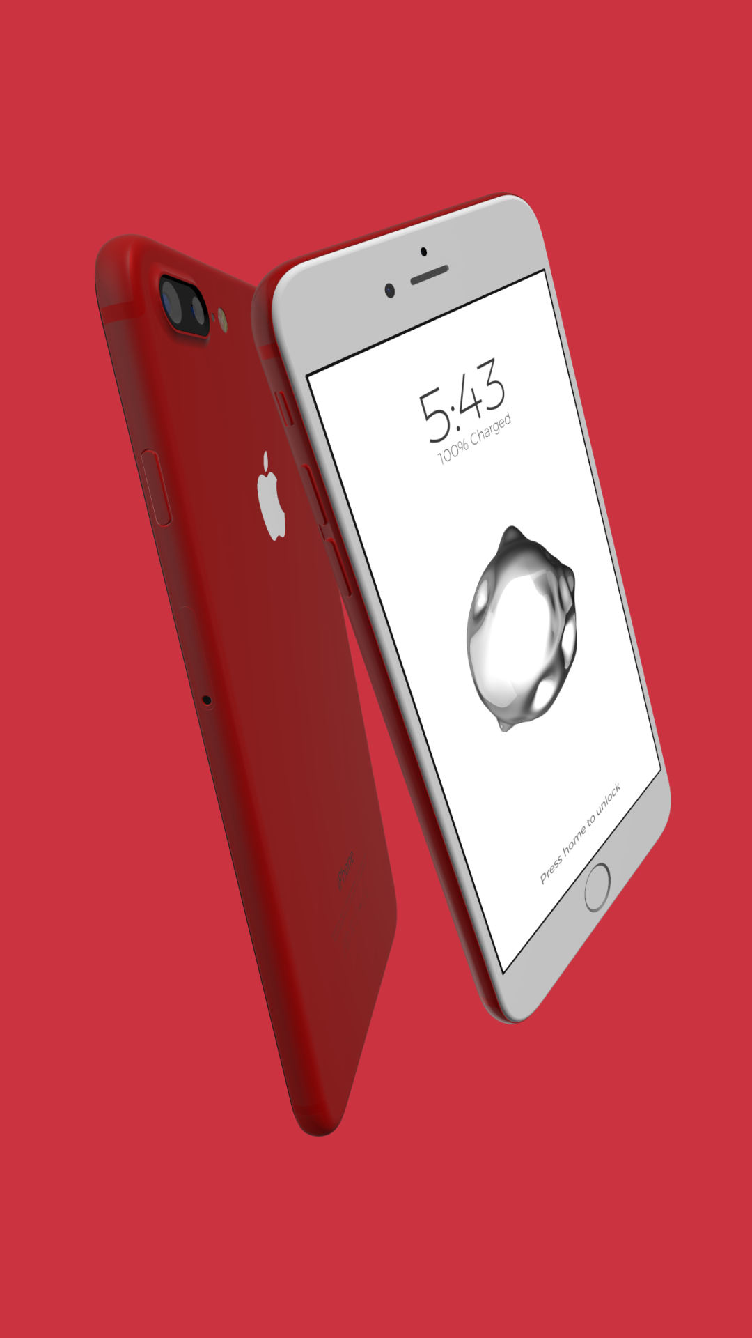 IPhone 7 RED Wallpaper Product Red Theyre All Available On The App Store