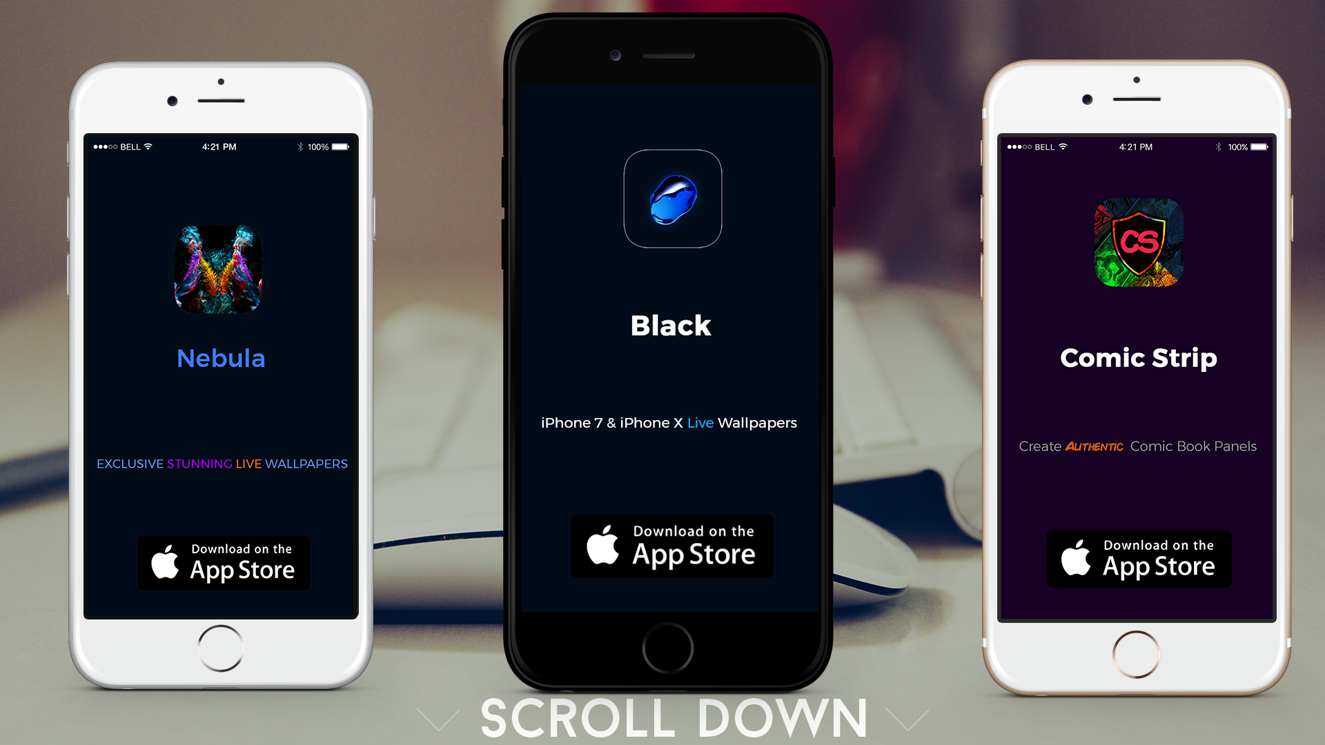 Download Black Live Wallpapers Unicorn Apps